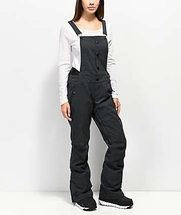 Roxy Torah Bright Vitality Black 15K Snowboard Bib Pants