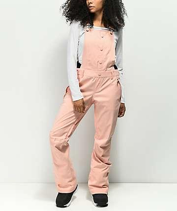 Roxy Torah Bright Vitality Pink 15K Snowboard Bib Pants