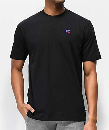 Russel Athletic Baseliner Black T-Shirt