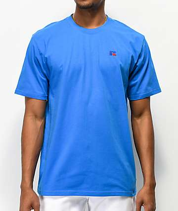 Russell Athletic Baseliner Blue T-Shirt