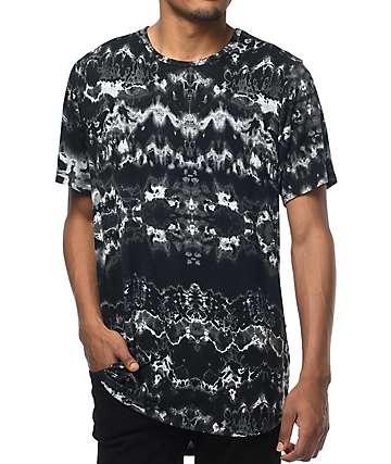 Rustic Dime Black Tie Dye T-Shirt