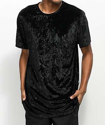 Rustic Dime Black Velour Tall T-Shirt