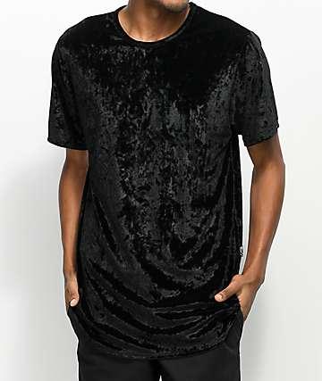 Rustic Dime Black Velour Tall T-Shirt