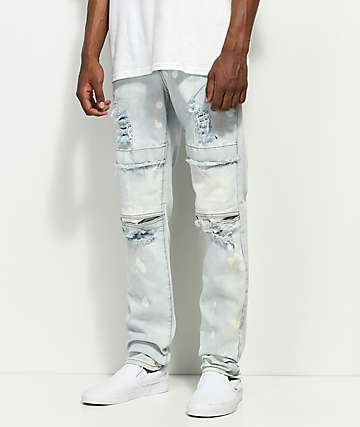Rustic Dime Dayton Light Blue Jeans