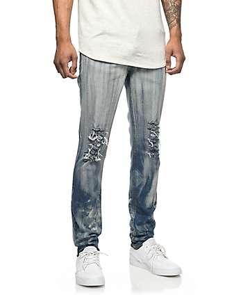 Rustic Dime Hendrix jeans rotos lavado ácido