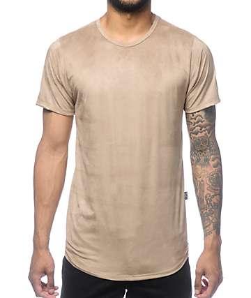 Rustic Dime Khaki Suede Tall T-Shirt