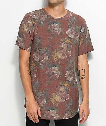 Rustic Dime Rose camiseta alargada