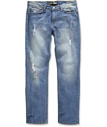 Rustic Dime jeans estropeados índigo