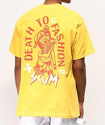 SCUM Death 2 Fashion Gold T-Shirt