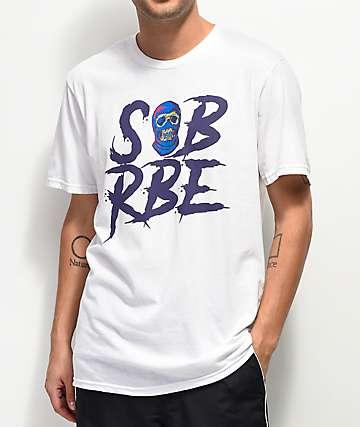 SOB x RBE Ski Mask White T-Shirt