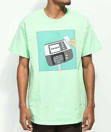 SOMEHOODLUM Broke Fam Mint T-Shirt