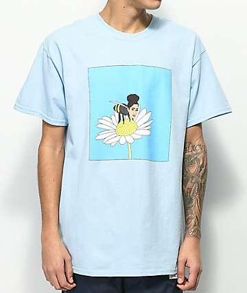 SOMEHOODLUM Cardi B Light Blue T-Shirt