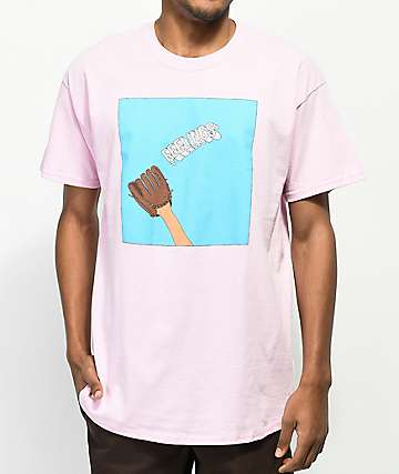 SOMEHOODLUM Catching Feelings Pink T-Shirt