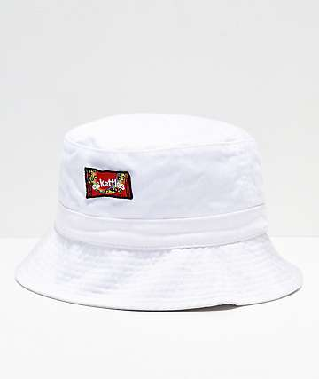 SOMEHOODLUM Eskettles White Bucket Hat