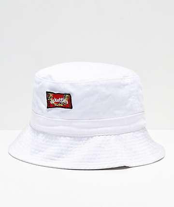 SOMEHOODLUM Eskettles sombrero de cubo blanco