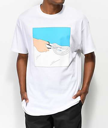 SOMEHOODLUM Gildan White T-Shirt