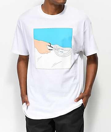 SOMEHOODLUM Gildan camiseta blanca