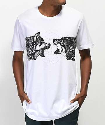 SOVRN Geri & Fleki camiseta blanca