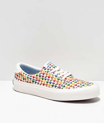 STRAYE Fairfax Rainbow Emoji Skate Shoes