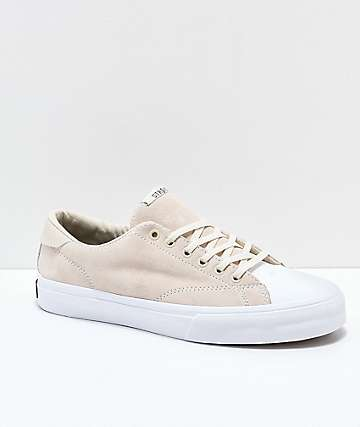STRAYE Stanley Bone Suede Skate Shoes