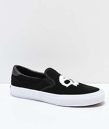 STRAYE Ventura Zero Black & White Skate Shoes