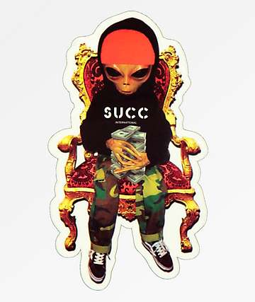 SUCC Throne Sticker
