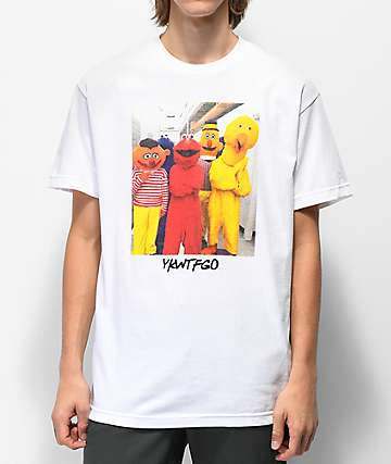 SUCC YKWTFGO camiseta blanca