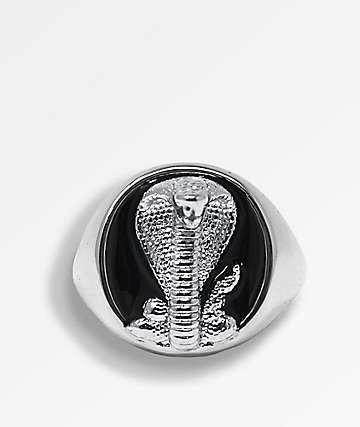 Saint Midas x Broken Promises Cobra Signet Silver Ring