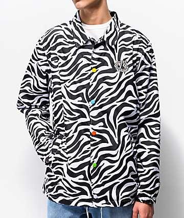 Salem 7 Zebra Coaches Jacket