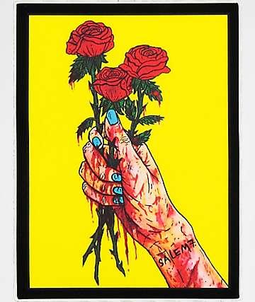 Salem7 Flowers pegatina