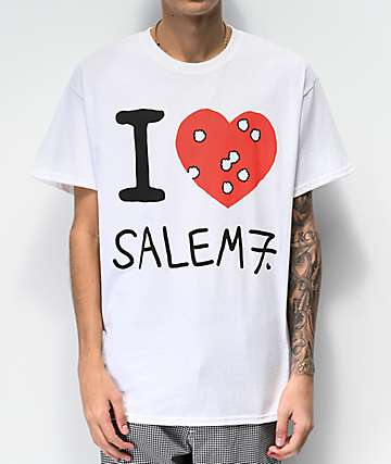 Salem7 I Hate Salem7 White T-Shirt