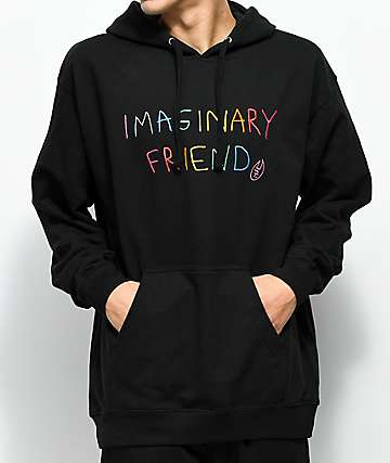 Salem7 Imaginary Friend Black Hoodie