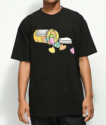 Salem7 Love Drug camiseta negra