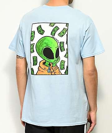 Salem7 Marshall Money Blue T-Shirt