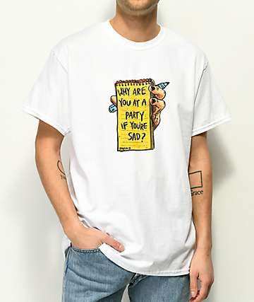 Salem7 Pity Party White T-Shirt