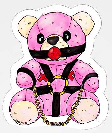 Salem7 Teddy Sticker