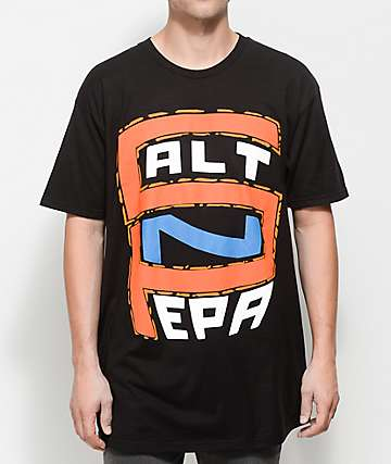 Salt N Pepa S-N-P Logo camiseta negra