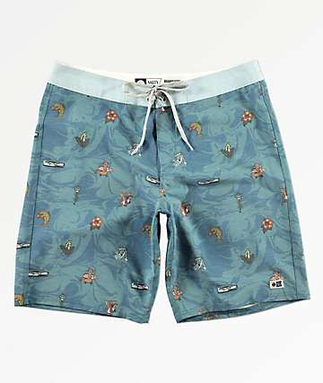 Salty Crew Bonzarelly Blue Board Shorts