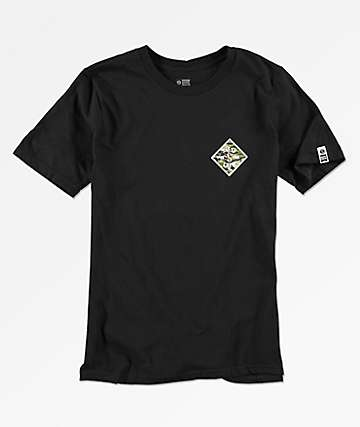 Salty Crew Boys Tippet Black T-Shirt