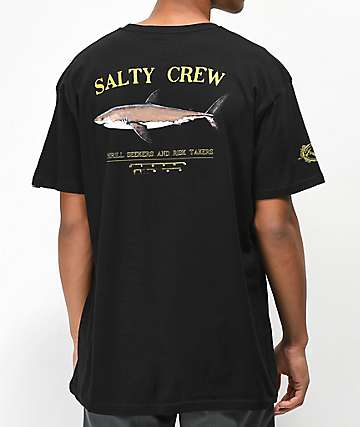 Salty Crew Bruce Black T-Shirt