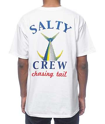 Salty Crew Chasing Tail White T-Shirt