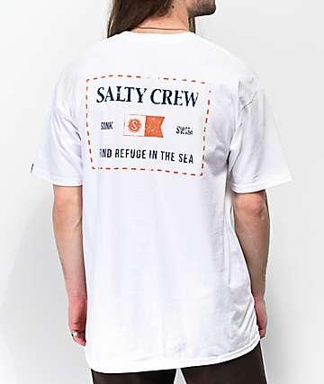 Salty Crew Essentials White T-Shirt