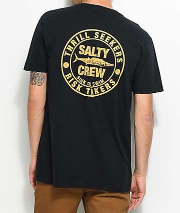 Salty Crew Ono Black T-Shirt