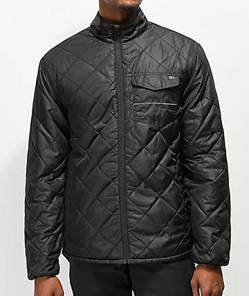 Salty Crew Puff Charcoal Jacket