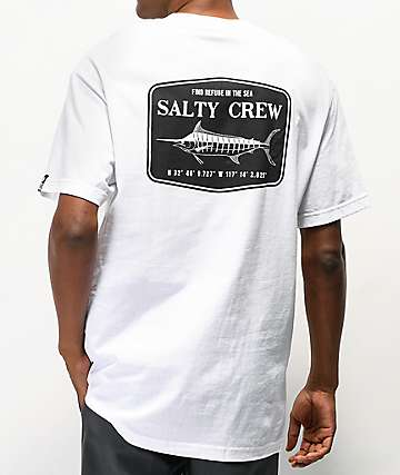 Salty Crew Stealth White T-Shirt
