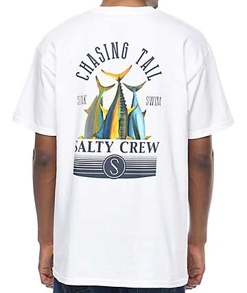 Salty Crew Tails Up White T-Shirt