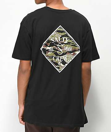 Salty Crew Tippet Black T-Shirt