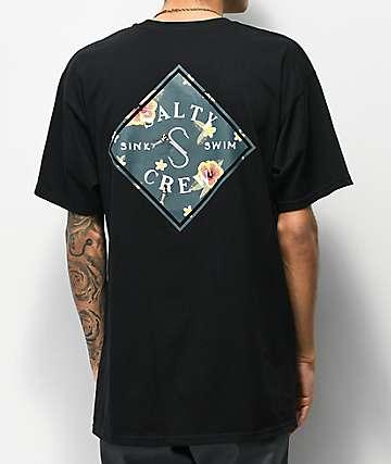 Salty Crew Tippet Isle Black T-Shirt