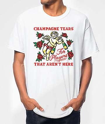 Samborghini Champagne Tears White T-Shirt