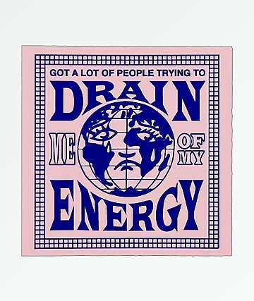 Samborghini Drain Me Sticker